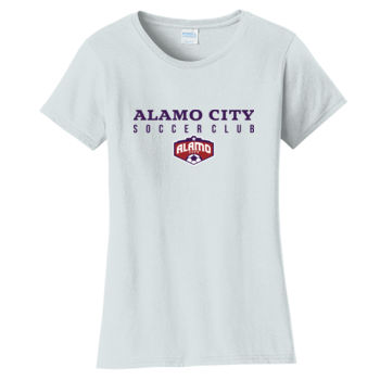 Alamo City SC Navy w/ Crest - Ladies Fan Favorite Tee Thumbnail