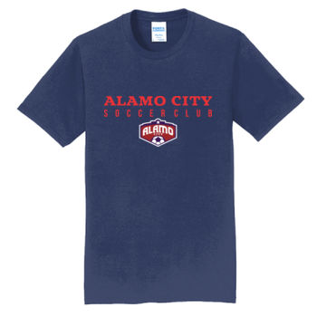 Alamo City SC Red w/ Crest - Fan Favorite Tee Thumbnail