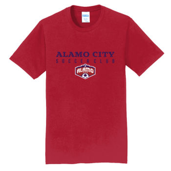 Alamo City SC Navy w/ Crest - Fan Favorite Tee Thumbnail
