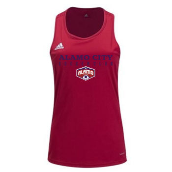 Alamo City SC (Navy Print With Crest)-Adidas Women's Core 18 Tank Thumbnail