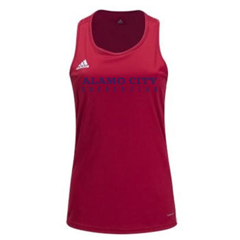 Alamo City SC (Navy Print)-Adidas Women's Core 18 Tank Thumbnail