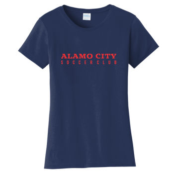Alamo City SC (Red Print) - Ladies Fan Favorite Tee Thumbnail
