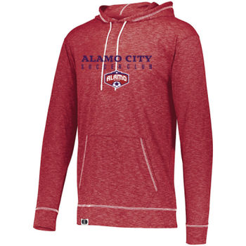 Alamo City SC (Navy Print With Crest) - Journey Hoodie Thumbnail