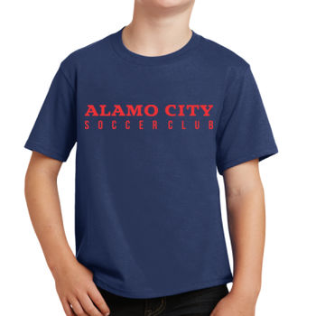 Alamo City SC (Red Print) - Youth Fan Favorite Tee Thumbnail