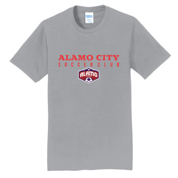 Alamo City SC (Red Print With Crest) - Fan Favorite Tee Thumbnail