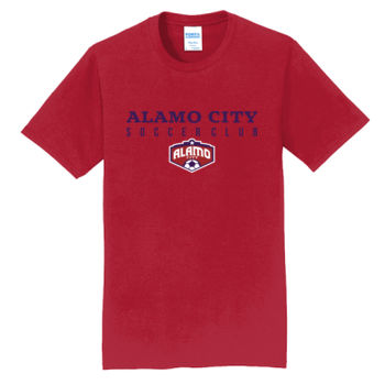 Alamo City SC (Navy Print With Crest) - Fan Favorite Tee Thumbnail