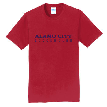 Alamo City SC (Navy Print) - Fan Favorite Tee Thumbnail