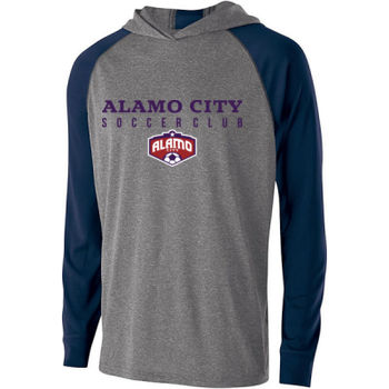 Alamo City SC (Navy Print With Crest) - Holloway Youth Echo Hoodie Thumbnail
