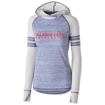 Alamo City SC (Red Print)- Holloway Girls Advocate Hoodie Thumbnail
