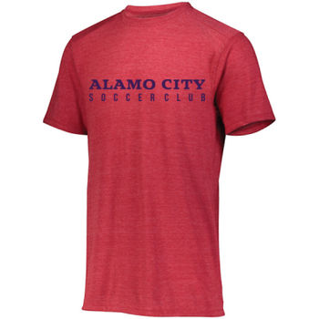 Alamo City SC (Navy Print) - Youth Tri-Blend T-Shirt Thumbnail