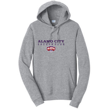 Alamo City SC (Navy Print With Crest) - Adult Fleece Hoodie Thumbnail