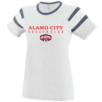 Alamo City SC (Red Print With Crest) - Fanatic Tee Thumbnail